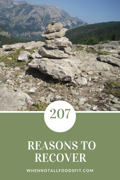 207 reasons to recover