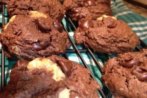 Vegan Walnut Chocolate Chunk Cookies