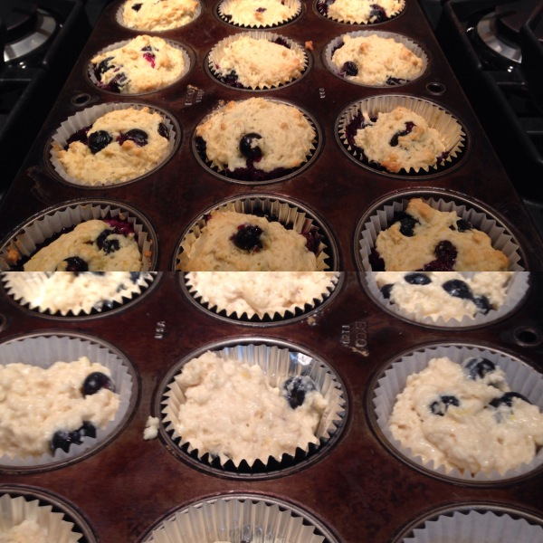 Vegan-Lemon-Blueberry-Muffins-Before-and-After