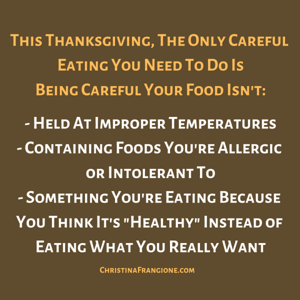 careful eating thanksgiving